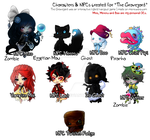 [Old] GY Player Characters by Tesvp