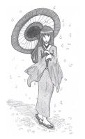 Lady With a Parasol (3-2) by xHappyello