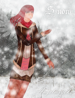 .::Touch The Snow::. by AngelMiyoko
