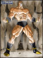 Nappa by DBZwarrior