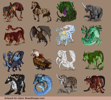 Myths of Beastkeeper.com by Aminirus