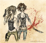 Deanna and Samantha Winchester by fromthatedge