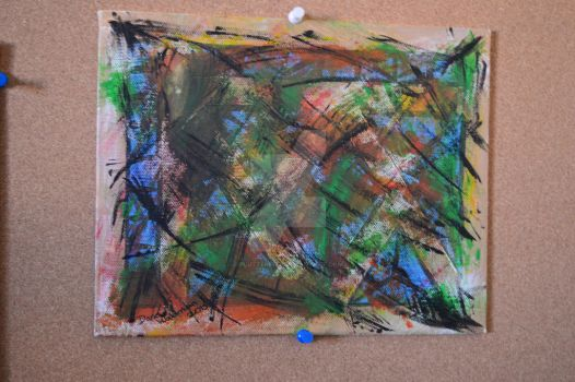 [Gift] Abstract Painting [Not For Sale] by FlutterFizz