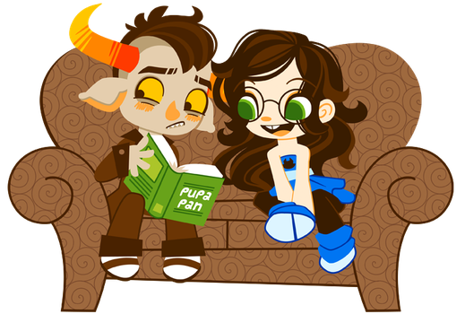 Tavros and Jade by Sprits
