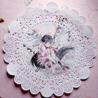 Doily - Faerie by draa