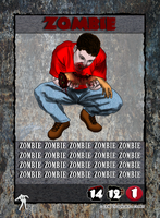 Zombies You Won't Survive the Night - Zombie by TalkingBull