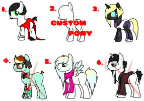 ::Pony Batch 2:: by Hipster-8008135