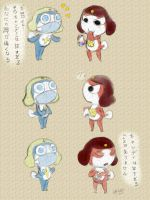 Sgt. Frog - Tadpole Candy by HettyBobcat