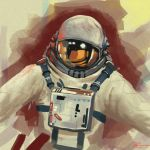 Astronaut Study by Kevin-Studios