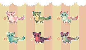 [ SOLD ] minikitties 01 by Sergle