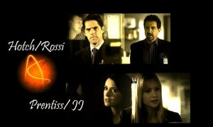 Hotch, JJ, Prentiss, Rossi by Anthony258