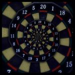 Darts Droste Effect by beem86
