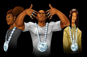 Thugnificent and crew. by Joey-Zero
