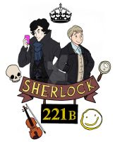 Sherlock by ArtisticCole