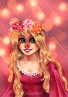 Tangled - Rapunzel by LarizaTailor