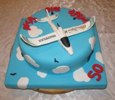 airplane cake by mysweetstop