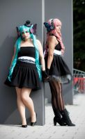 Vocaloid - Miku and Luka [Magnet] #03 by Ama-la