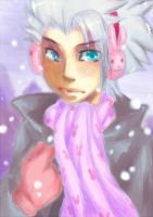 Winter bunnies - Hitsugaya by Kannabie3