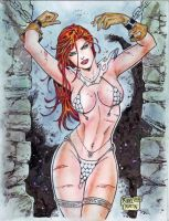 RED SONJA by RODEL MARTIN (05022014) by rodelsm21