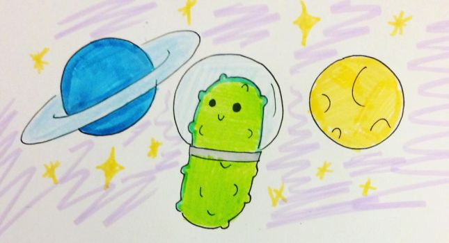 Space Pickle by Kirito-Hashimoto