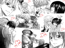 Usui and Misaki Collage by mandaangel96