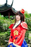 Dynasty Warriors 7 Da Qiao Cos by jiaanxu