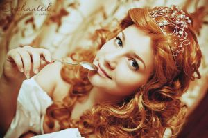 Giselle and a spoon by cxalena