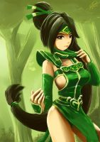 Akali The Fist of Shadow by YunsamaTH
