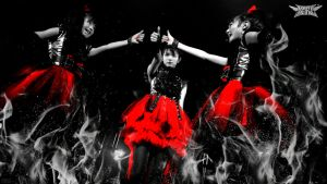 BABYMETAL Red Black White by NEO-Musume