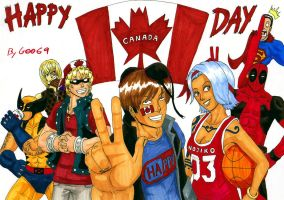 CANADA DAY by GarthTheDestroyer
