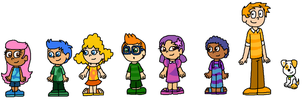 Humanized Bubble Guppies by ChameleonCove