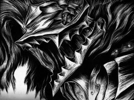 Berserk Scratchboard by Jackolyn