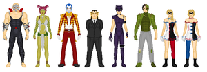 Earth 133: Gotham Rogues by Dudewithasmile