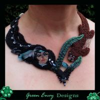 spirit of the otter totum M by green-envy-designs