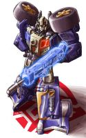 Energon Prowl Colored by 1DB
