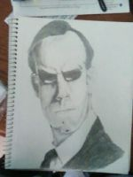 Agent Smith by skinny-artist