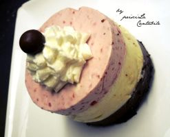 Gateau mousse by priscilaisnothere