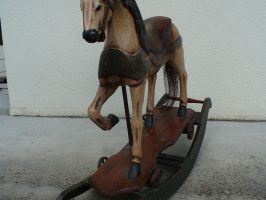 Rocking Horse IV by AutumnRaindrop-Stock