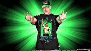 WWE John Cena Neon 2014 Wallpaper Widescreen by Timetravel6000v2