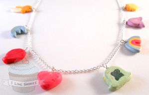 Scented Lucky Charms Necklace by ilikeshiniesfakery