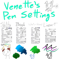 Venette's pen settings by VenetteTheFurret