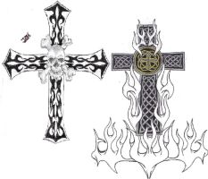 the crosses by mybeautifulsickness