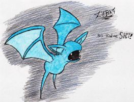 41 - Zubat by JacobMace
