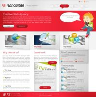 Nanophite Interface by sinthux by webgraphix