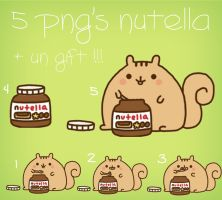Nutella PNG by mishycrazylove