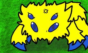 Colors 3D Angry Joltik by Dragoshi1