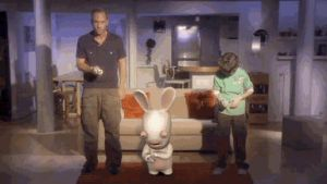 Rayman Raving Rabbids 2 GIF by coverop