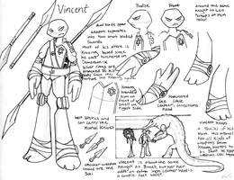 Vincent Reference by PitterPaint