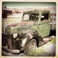Old V8 Truck - Bodie, CA by Ichi-Black
