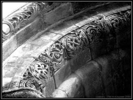 Above the Library Door.. by Nariane